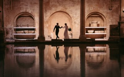 Roman Baths Wedding Shoot