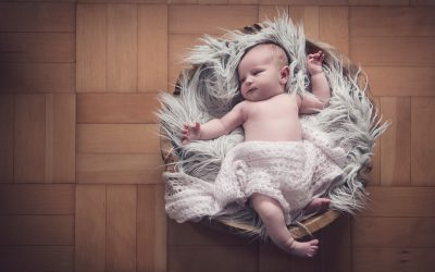 Newborn Shoot at Home in Cardiff