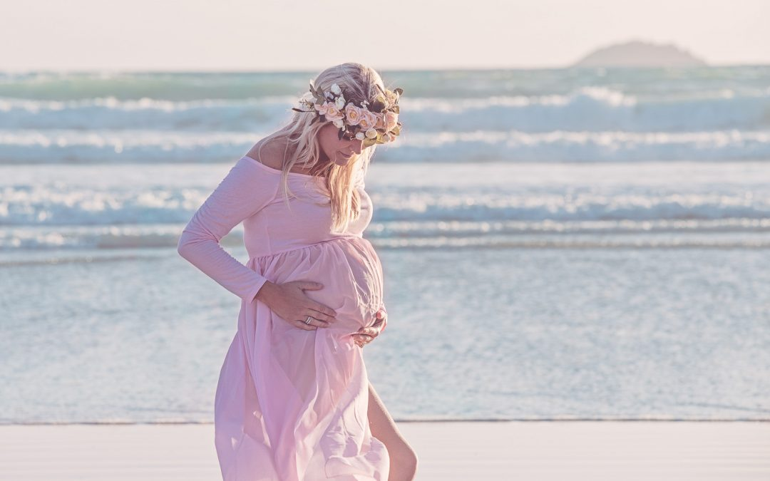 Maternity Shoot in Cornwall