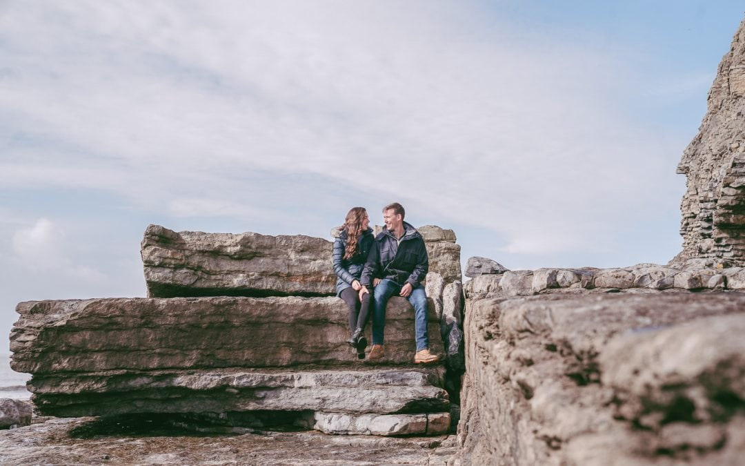 Couple Shoot On The Beach – Southerndown South Wales