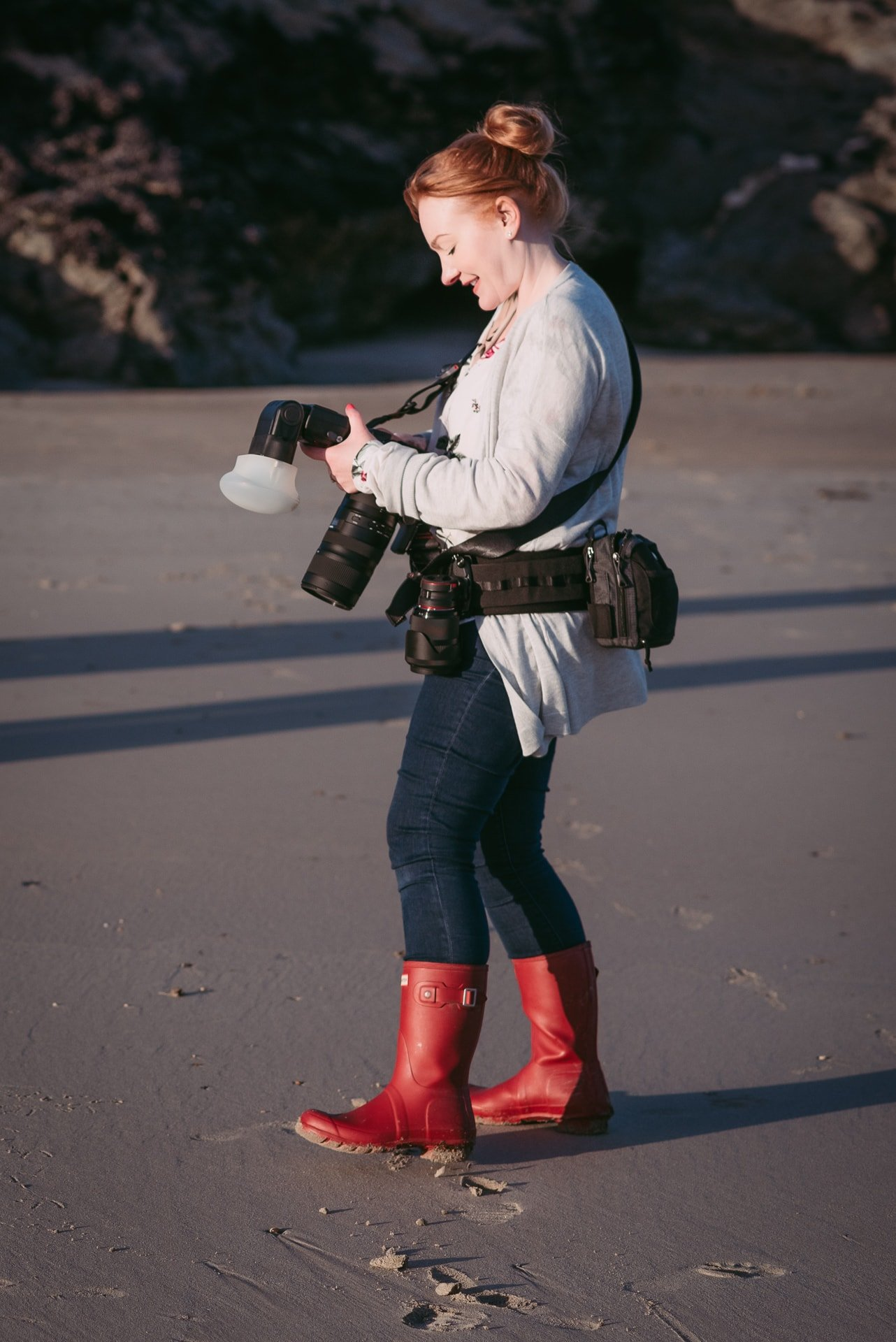 portrait of zelda rhiannon lifestyle photographer